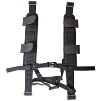 TechServ Full Body Harness Chest/Waist , Coiled Hose Read