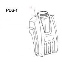 Tank 2.5 Gallon 10 Liter c/w Filtration Assembly