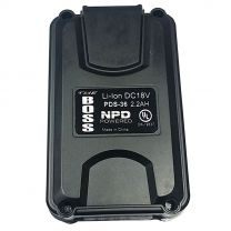 Quick Battery - Rechargeable,18 Volt Lithium Ion Battery Weight: 0.8lbs - 2.2 AH