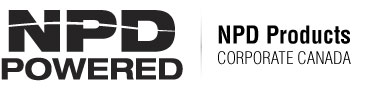 NPD Powered Logo