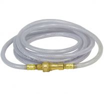 12 Foot Clear Hydrogen Peroxide Liquid Extension Hose x 1/4