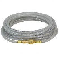 25 Foot Clear Hydrogen Peroxide Liquid Extension Hose x 1/4
