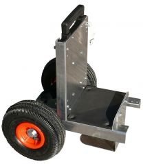 Mobile Cart c/w Telescoping Handle