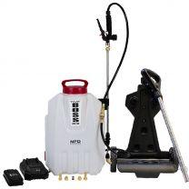 The Boss 2.5G Interior-Exterior Liquid and Foam Backpack Sprayer c/w Mobile Cart