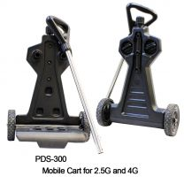 Mobile Cart Rubber Wheels for Boss PDS-2.5G or PDS-4G..Interior & Exterior Backpack System
