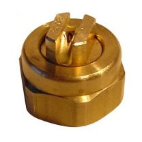 Low Flow Liquid Fan Spray Tip, Brass