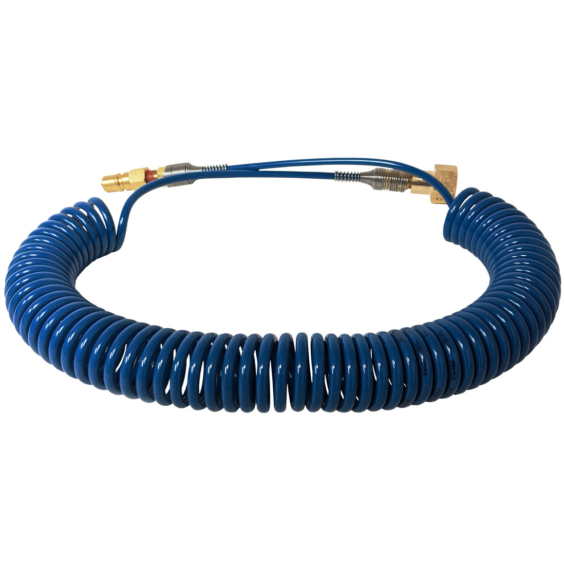 Coiled Output Treatment Hose