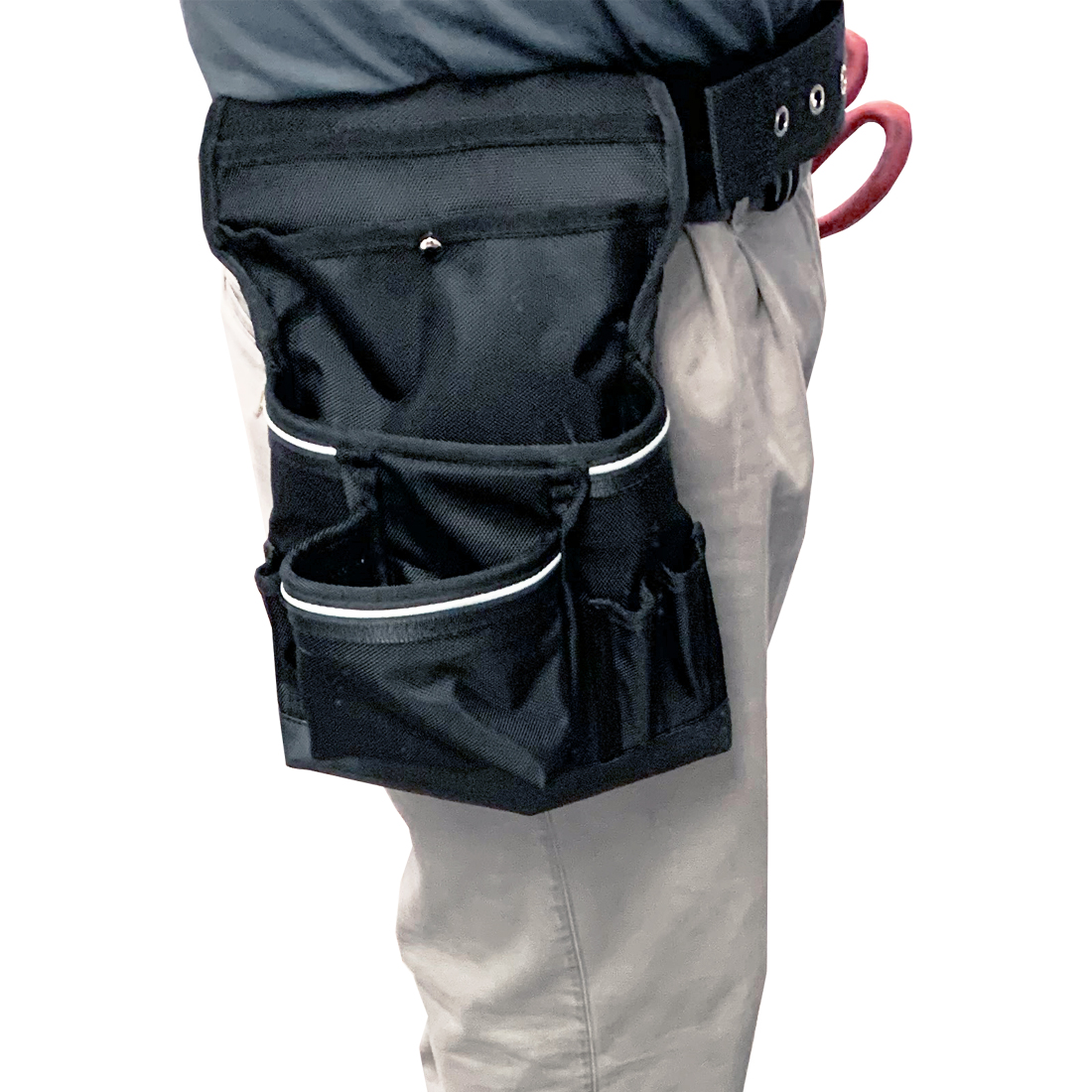 TechServ Nail Pouch Twin Bag
